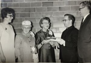 Elizabeth McGowan Honored by her Church