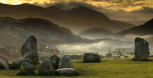 Portion of the Castlerigg Stone Circle