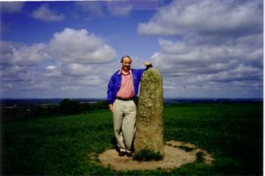 The Lia Fáil, Stone of Destiny; Hill of Tara, County Meath