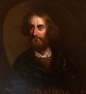 Domnall (Donald I) MacAlpin, King of Picts and Scots