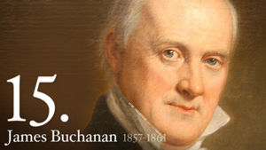 James Buchanan 15th President