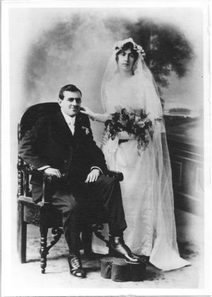 Sam Prowse & Bessie Hicks - Wedding Photo