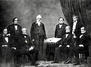 James Buchanan and his Cabinet