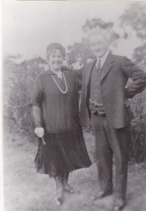 Lilian with husband Henry Morrod