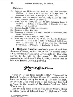 Thomas Gardner, Planter; page 40