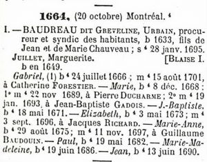 Urbain Baudreau-Tanguay Collection Vol 1 page 31