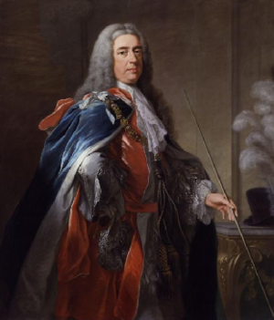 Charles Fitzroy, 2nd Duke of Grafton by artist William Hoare.