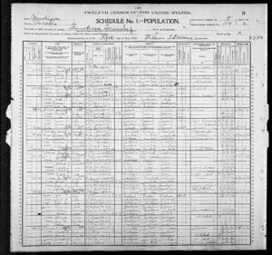 1900 United States Federal Census