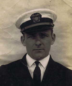Naval Officer Leo McGOWAN