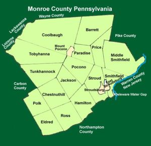 Monroe County Townships