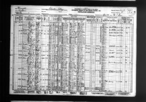 Max and Grace Beaty's Family in the 1930 Census