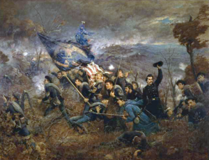 The Second Minnesota at Missionary Ridge