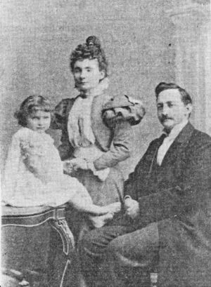 Samuel W. Prowse and family