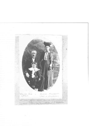 William John Addis and Jessie Foxcroft