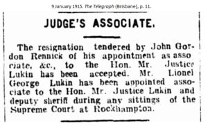 Associate to Judge Lukin
