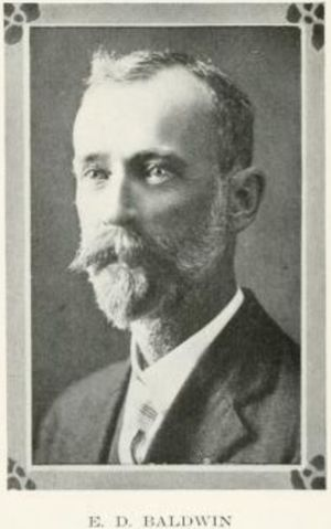 Erdmann Baldwin, 1921