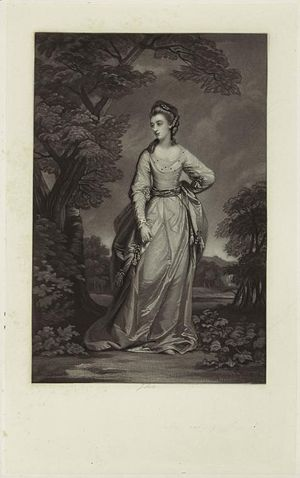Emily Coote nee Fitzgerald, Countess of Bellamont.