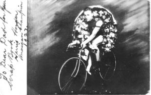 Harris Horder Bicycle Champion and WW2 Hero
