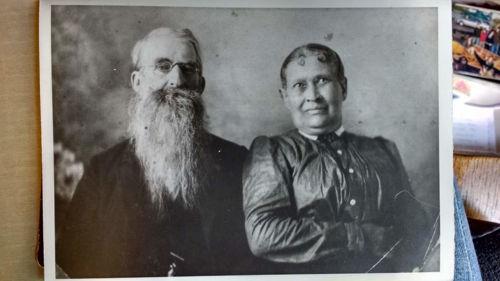 Josiah Smeadley and Rachel Hitt