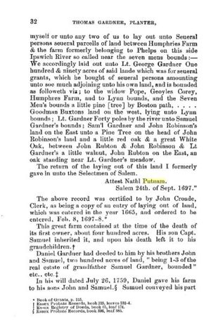 Thomas Gardner, Planter; page 32