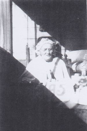 Isabella Oxley, aged 95