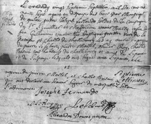 Marriage record of Madelene and Joseph Fernando