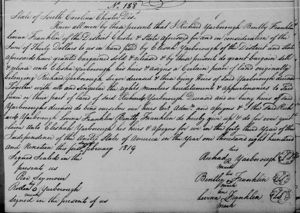 Bentley Franklin - Lavina Franklin - Richard Yardborough - Quit Claim 1819