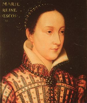 Mary, Queen of Scots, by an Artist of the Clouet School.