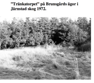 Tränkatorpet today it was teared down 1910