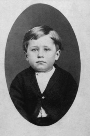Orville Wright, 4 Years Old