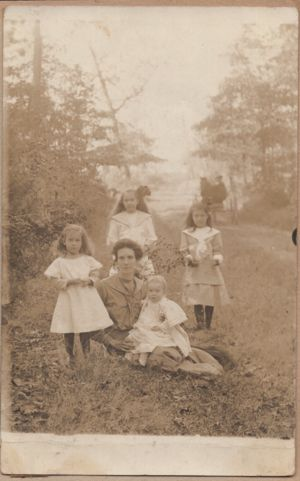 Possibly Nellie and her girls (Unknown)