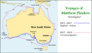 Voyages of Matthew Flinders