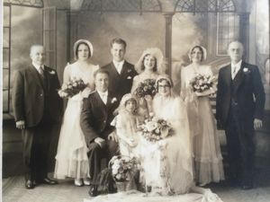 Wedding Photo-Gilbert Cuvellier and Maria Therrien