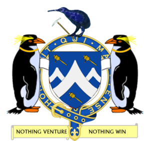 The Coat of Arms of Sir Edmund Hillary