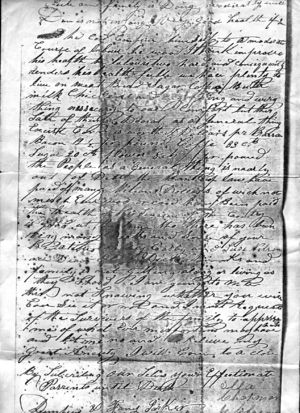 Page of of letter from Ira to Dempsey