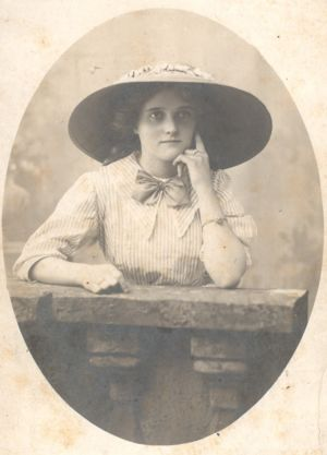 Lucy Adelaide Miller, age 16