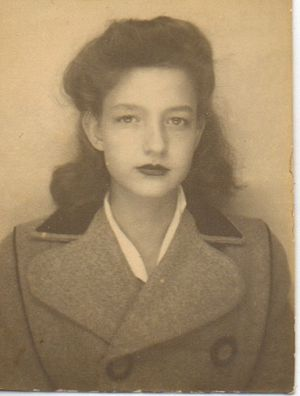 Betty Huyler as a Teenager
