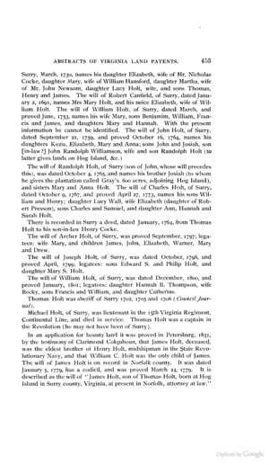 Randall Holt 1640 1679 Wikitree Free Family Tree