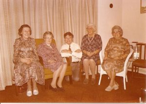 Winnie, Ida, Dorothy, Jim & Alice Larner as adults