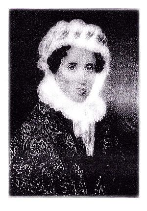 Miss Catherine Fiske 1784-1837 Principal of the Young Ladies' Seminary and Boarding School in Keene, New Hampshire, One of the First Schools of Higher Learning for Women