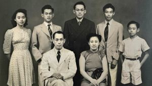 Chin Koon 李 and his family