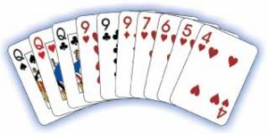 Baker's Gin Rummy Card Game