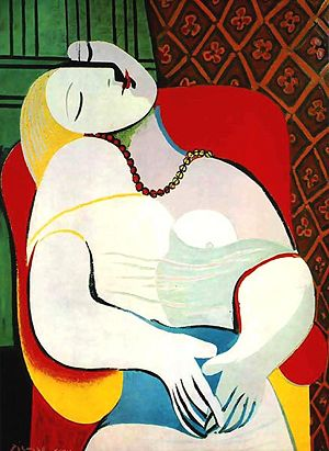 Woman by Picasso