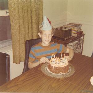 Tom Pratt 8th Birthday