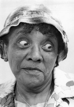 Moms Mabley on the <i>Smothers Brothers</i> (CBS)