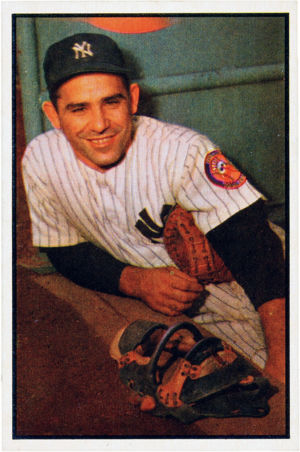 1953 Bowman Color Yogi Berra