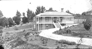 Home of architect Edward Bartley in Devonport