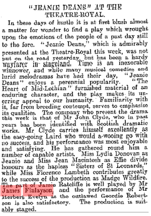 The Scotsman, 3 May 1910, ProQuest Historical Newspapers: The Scotsman (1817–1950), pg. 5