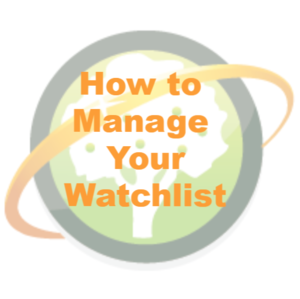 Manage Watchlist