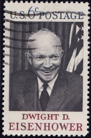 Dwight D. Eisenhower 6 Cents US Postage